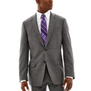 Claiborne® Black & White Nailhead Suit Jacket - Classic Fit