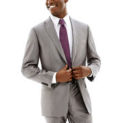 Claiborne® Shimmer Herringbone Stretch Suit Jacket