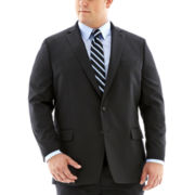 Claiborne® Black Solid Suit Jacket–Big & Tall