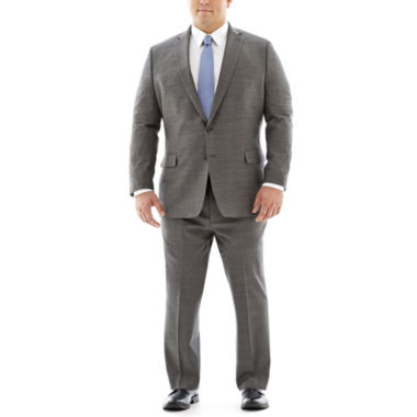 jcpenney.com | Claiborne Stretch Black and White Nailhead Suit-Big and Tall Fit