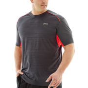 Asics® Short-Sleeve Running Tee–Big & Tall
