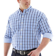 IZOD® Long-Sleeve Essential Woven Shirt–Big & Tall