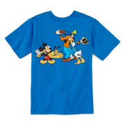 Disney Collection Fab 4 Laugh Short-Sleeve Graphic Tee - Boys 2-12