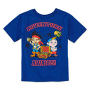 Disney Collection Jake Short-Sleeve Graphic Tee – Boys 2-12