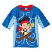 Disney Collection Jake Rash Guard - Boys 2-10