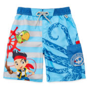 Disney Collection Jake Swim Shorts - Boys 2-10