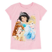 Disney Collection Princess Graphic Tee – Girls 2-10