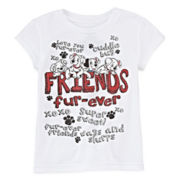 Disney Collection 101 Dalmatians Graphic Tee – Girls 2-12