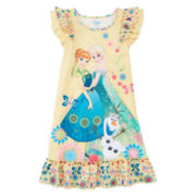 Disney Collection Frozen Fever Nightshirt – Girls 2-10
