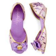 Disney Collection Rapunzel Costume Shoes – Girls 2-13