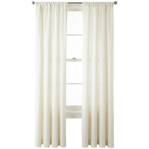 Liz Claiborne® Ainsley Rod-Pocket Curtain Panel