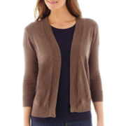 St. John's Bay® Open-Front Cardigan Sweater
