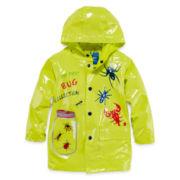 Wippette Bugs Rain Slicker - Boys 2T-4T