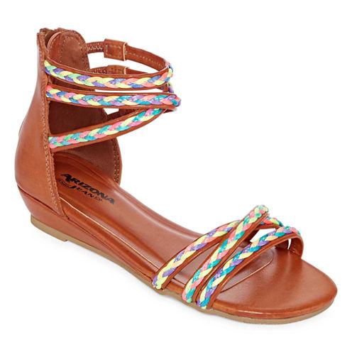 Arizona Perk Girls Flat Sandals - Little Kids/Big Kids