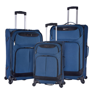 jcpenney.com | Travelers Club Naples 3-pc. Luggage Set