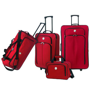 jcpenney.com | Travelers Club 4pc 4-pc. Luggage Set