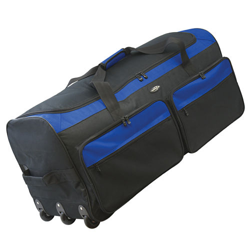 "Travelers Club 36"" Collapsible Rolling Duffel"