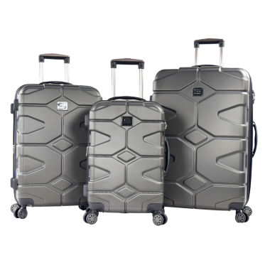 jcpenney.com | Travelers Club Axel 3-pc. Luggage Set