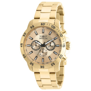 jcpenney.com | Invicta Specialty Mens Gold Tone Bracelet Watch-21505