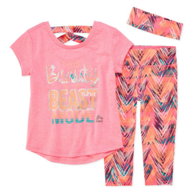 jcpenney.com | Rbx 3-pc. Legging Set-Preschool Girls
