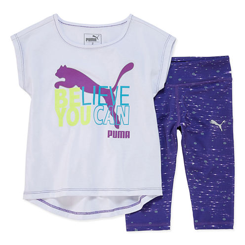 Puma 2-pc. Legging Set-Preschool Girls