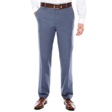 jcpenney.com | JF J. Ferrar Stretch Blue MicroTexture Pant-Slim Fit