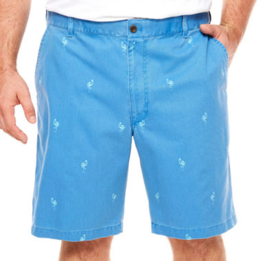 jcpenney.com | IZOD Chino Chino Shorts-Big and Tall