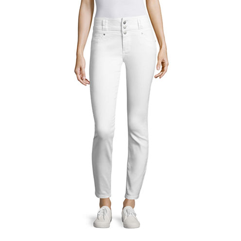 Blue Spice Ankle Pants-Juniors