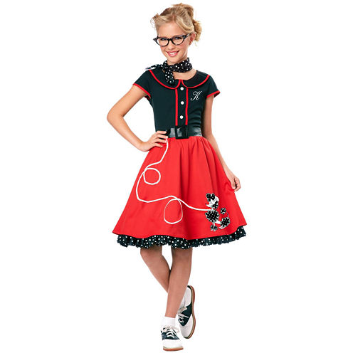 50's Sweetheart Child Costume - Small (6-8)