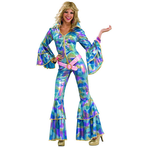 70s Disco Mama Adult Costume 2-pc. Dress Up Costume Womens