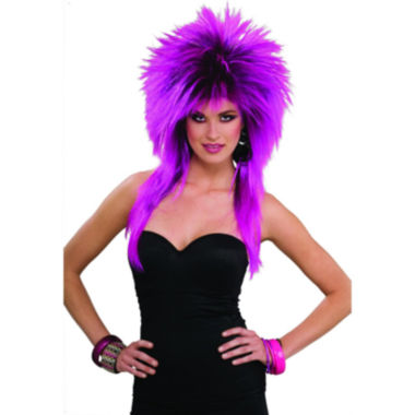 jcpenney.com | Buyseasons 80s Purple Pizazz Adult Wig Womens Dress Up Accessory