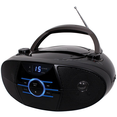 Jensen CD-560 Portable Stereo CD Player with AM/FM Stereo Radio & Bluetooth