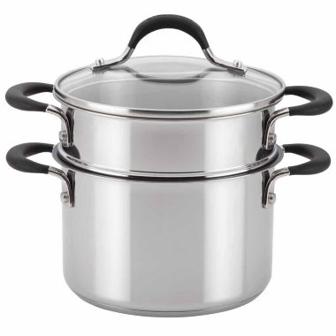 jcpenney.com | Circulon 3-pc. Stainless Steel Steamer Insert