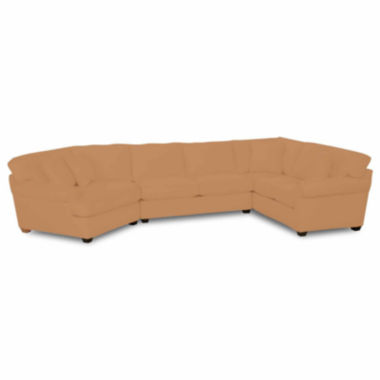 jcpenney.com | Fabric Possibilities Roll-Arm 3-pc. Right-Arm Corner Sofa Sectional