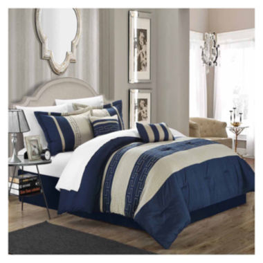 jcpenney.com | Chic Home Carlton 10-pc. Complete Bedding Set With Sheets