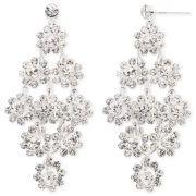 Vieste® Rosa Floral Drop Earrings