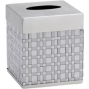 Avanti Basketweave Tissue Holder