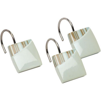 Avanti By the Sea Bath Shower Curtain Hooks