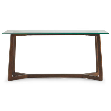 jcpenney.com | Destin Glass Top Sofa Table
