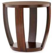Hooper Round End Table