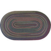 Monticello Reversible Braided Indoor/Outdoor Oval Rugs