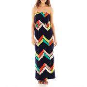 Trixxi® Geo-Print Maxi Dress