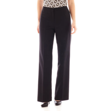 jcpenney.com | Black Label by Evan-Picone Flat-Front Pants