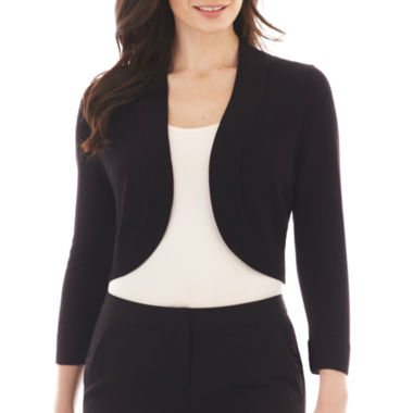 jcpenney.com | Jessica Howard 3/4-Sleeve Bolero Sweater