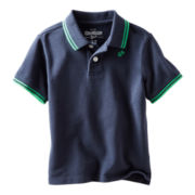 OshKosh B'gosh® Navy Polo Shirt - Boys 4-7