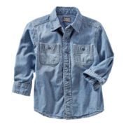 OshKosh B'gosh® Chambray Woven Shirt - Boys 4-7