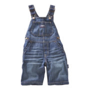 OshKosh B'gosh® Denim Shortalls - Boys 3m-24m