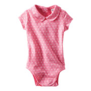 OshKosh B'gosh® Peter Pan Collar Bodysuit - Girls 3m-24m