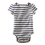 OshKosh B'gosh® Striped Bodysuit - Girls 3m-24m