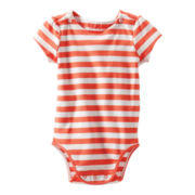OshKosh B'gosh Striped Bodysuit - Girls 3m-24m